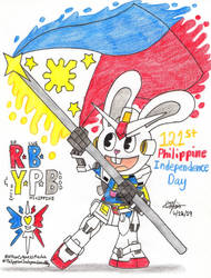 Red, Blue and Yellow Philippine Blood by murumokirby360