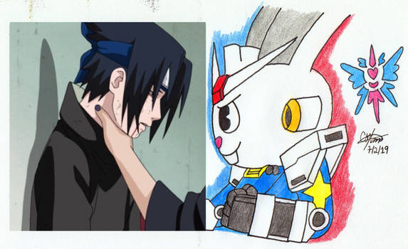 Cude's Sasuke Choking Meme