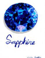 Sapphire by gaararesurrection