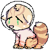 space cat pixel by soapboxxer