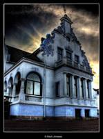 Evil house by ajonsaas