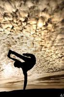 Freeze silhouette by ajonsaas