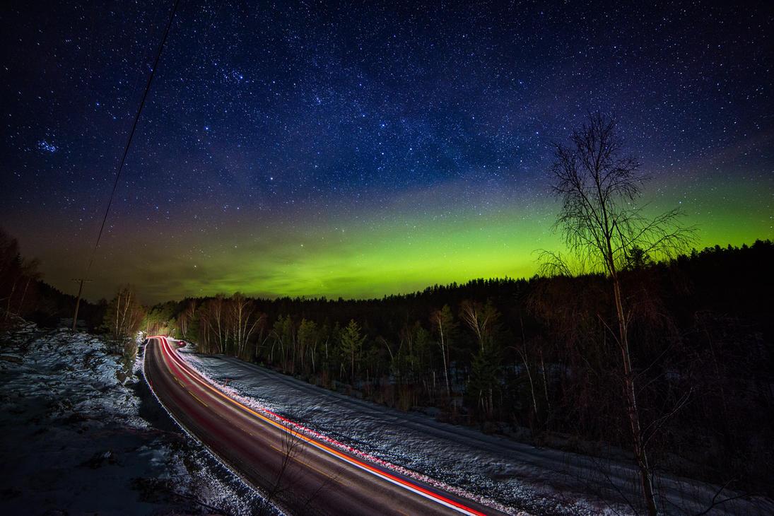 Northern Lights by AleckJo