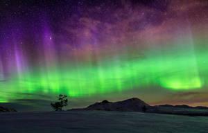 Tuddal Aurora by ajonsaas
