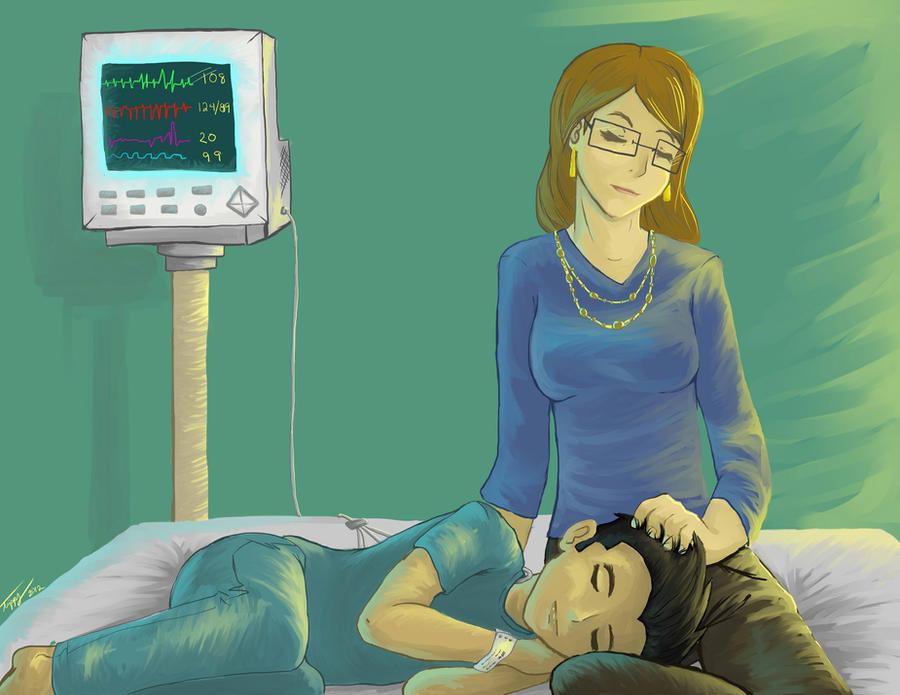 Generator Rex: Hospital Visit by Marli