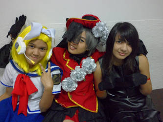 Rin, Ciel and Tifa - 6 by sukijanai19