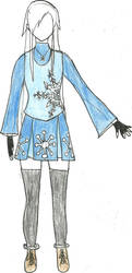 Female Jack Frost Design 1 by sukijanai19