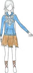 Female Jack Frost Design 2 by sukijanai19