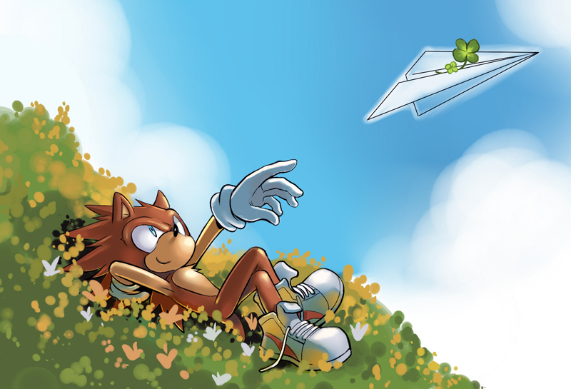 Young Sonic 02 By Saku666 On Deviantart