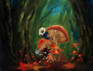 Mushroom by Saku666
