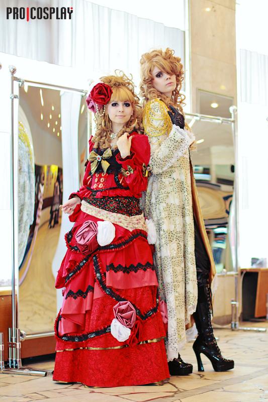 Versailles - Hizaki, Kamijo by Mana-himeI