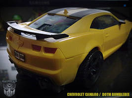 Transformers Dark of The Moon Bumblebee 2 by areev19