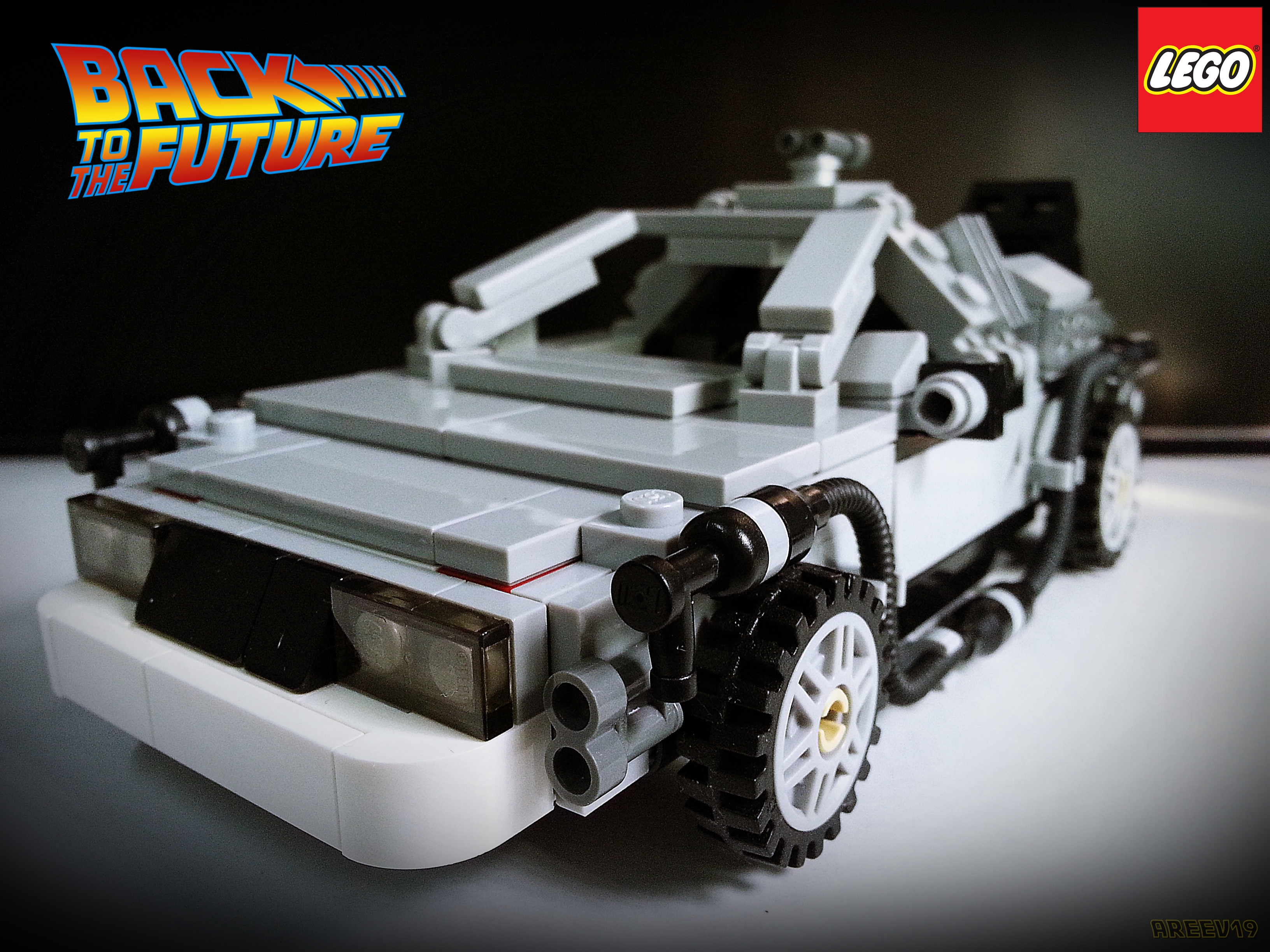 Lego Back To The Future By Areev19 On Deviantart