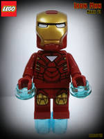 LEGO Iron Man by areev19