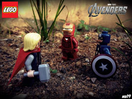 Thor vs Iron Man vs Captain America by areev19