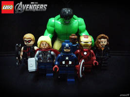 LEGO Avengers by areev19