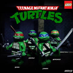 LEGO Teenage Mutant Ninja Turtles by areev19