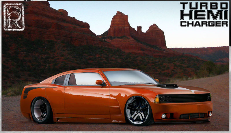 Photoshop: Dodge Charger 1
