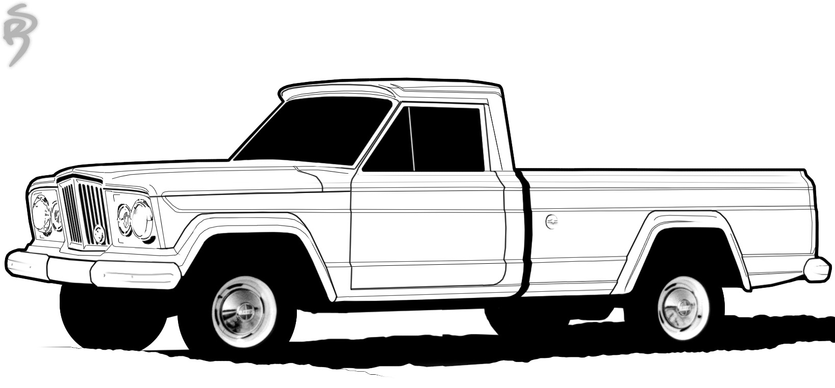Free Chevy Truck Cliparts, Download Free Clip Art, Free Clip Art ... | 762x1637