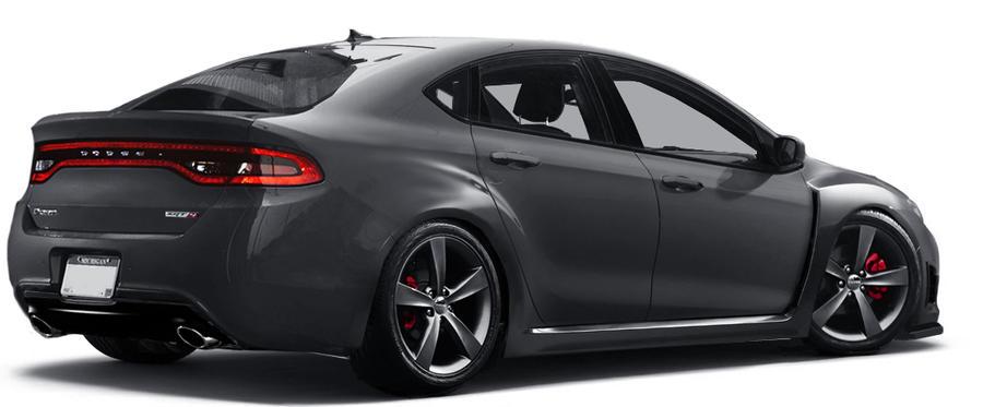 Dodge Dart Srt4 Hood >> Dodge Dart WRX STI
