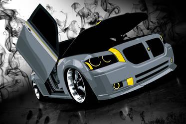 Dodge Magnum by suzq044-chopartist