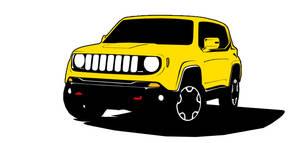 Jeep Renegade - Toon