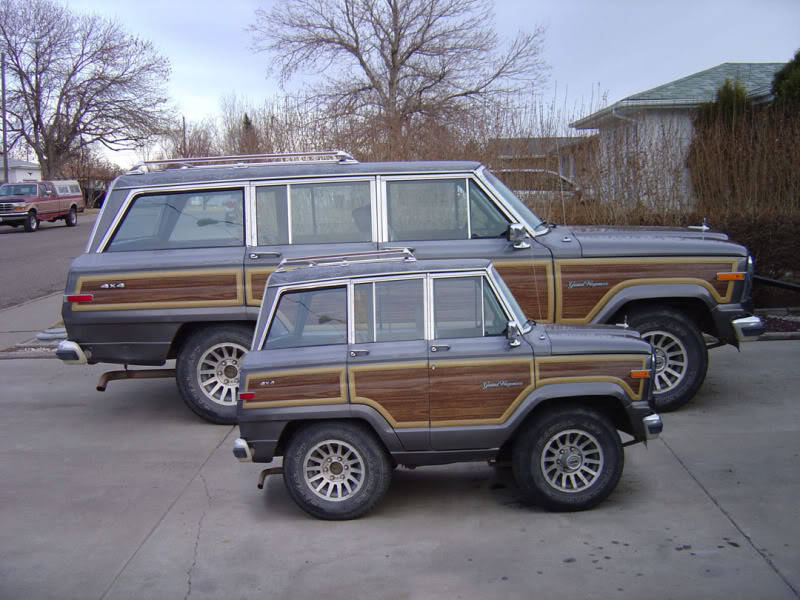Marvelous Mini Me: Jeep Grand Wagoneer. By Suzq044 Chopartist ...