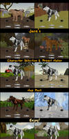 Character Selection Screen / Preset Maker Pack!