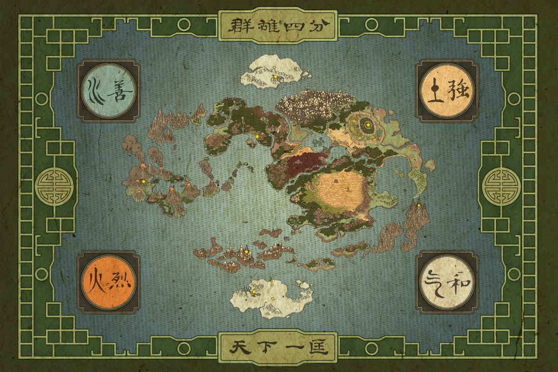 Genji's world map yo! by freestyletrue