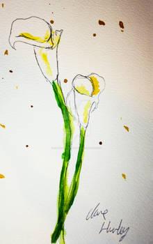 Watercolour Flowers 3