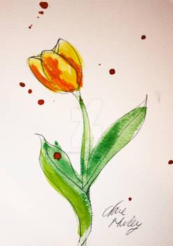 Watercolour Flowers 5
