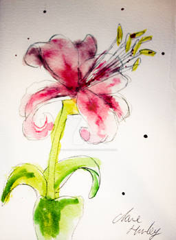 Watercolour Flowers 7
