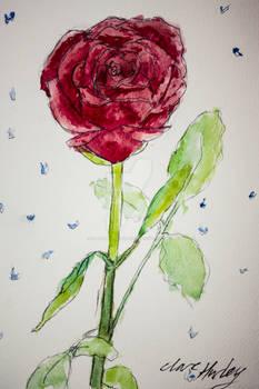 Watercolour Flowers 9