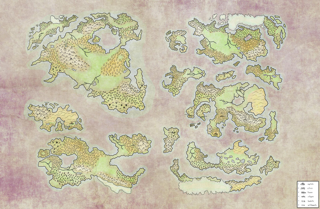 The Map of a World by gdude15