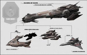 Ships Military by ZackJoad