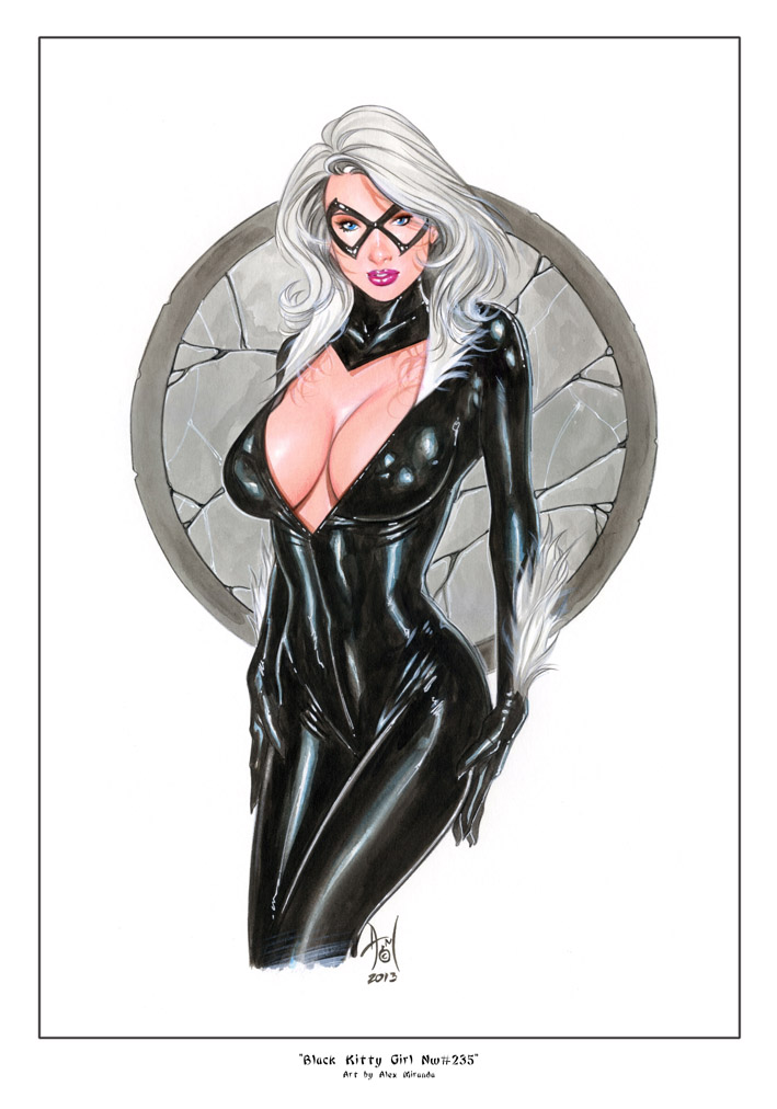 BLACK CAT Nw235 by AlexMirandaArt