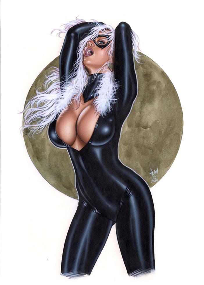 BLACK CAT Bw021 by AlexMirandaArt