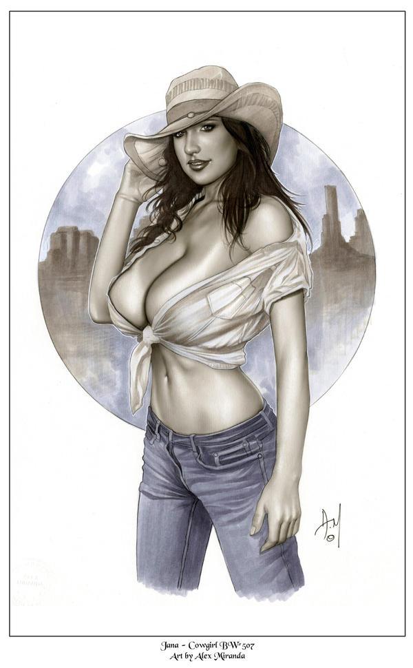Hot Cowgirl Bw507