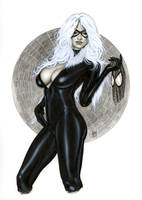 BLACK CAT Bw705 by AlexMirandaArt