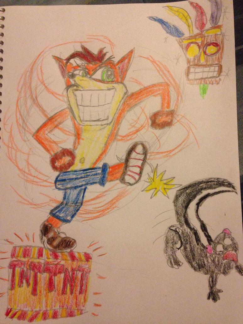 Crash Bandicoot in a Nutshell by TheDarkNeon