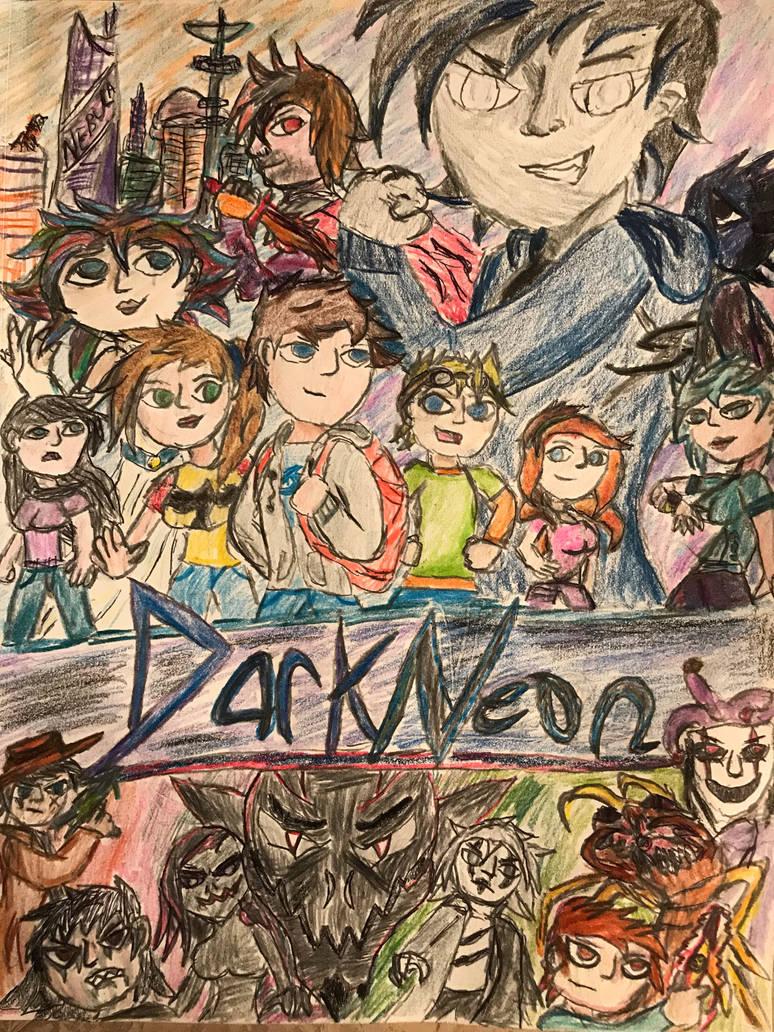 DarkNeon -ReDux- Season 1 Poster
