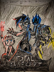 Terrorween IX - Total Blackout poster Redux