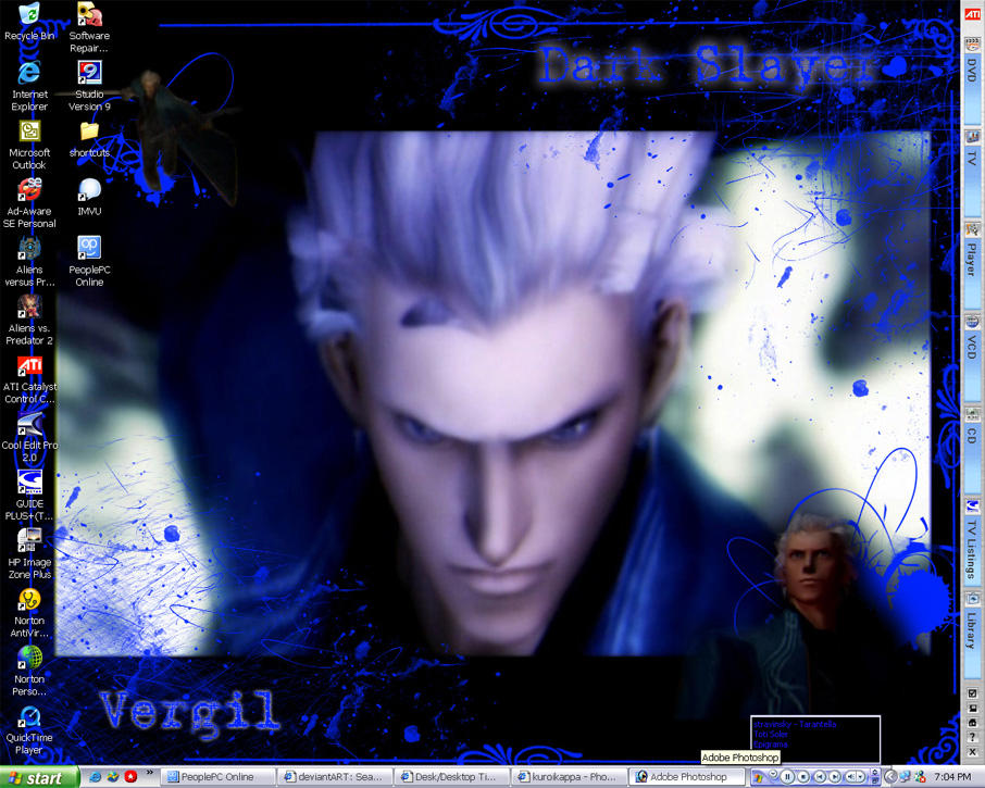 Vergil Desktop by KuraiDenki