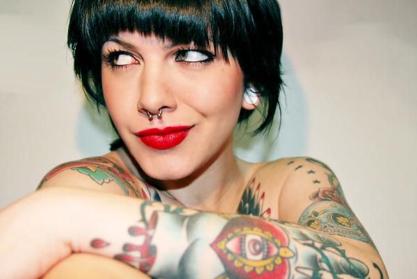 Chicas tatuadas 1 taringa for Carpa koi costo