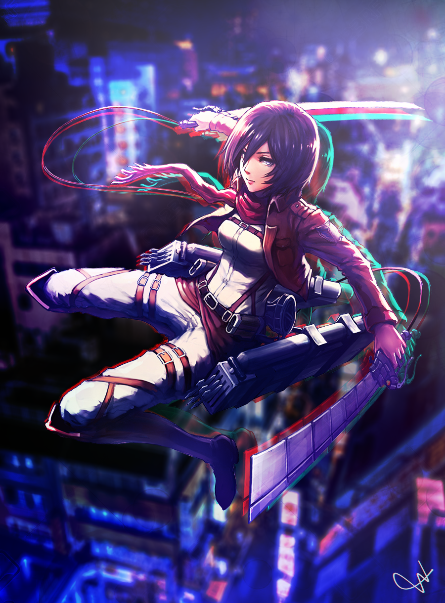 Mikasa Ackerman Wallpaper By By Haru On Deviantart