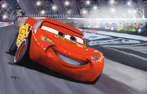 Lightning McQueen by bensonput