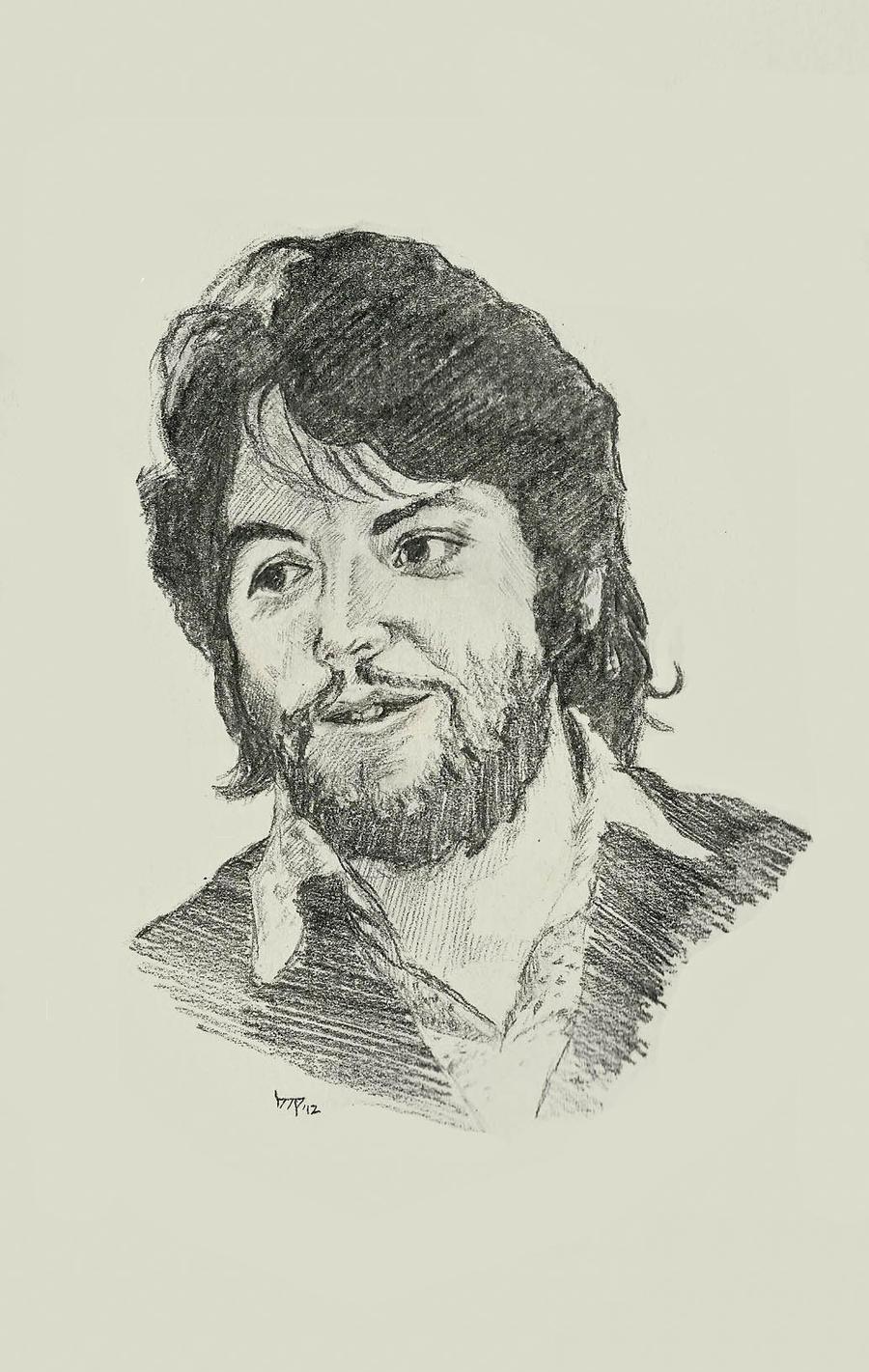 Paul McCartney by bensonput