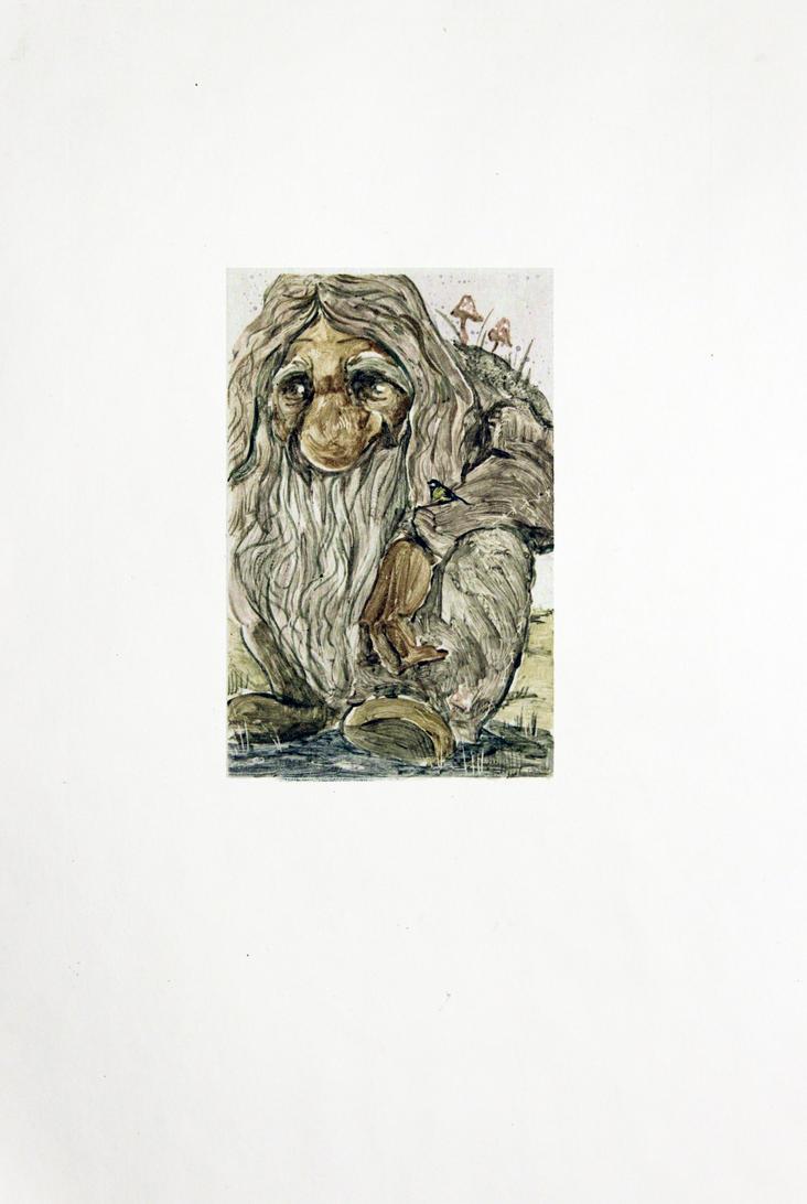 Grandpa-troll by Tirass