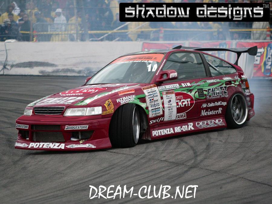 Honda prelude drifting youtube