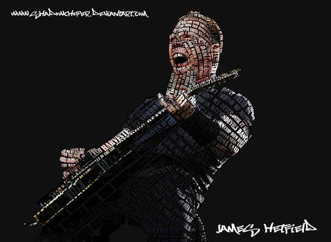 James Hetfield Typography